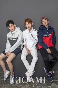 Hyunbin, Kenta and Donghan for Gioami Korea