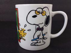 Snoopy Woodstock Teacher My Mug Peanuts Coffee Cup Mug #Snoopy