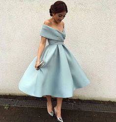 Elegant Prom Dress, Knee Length Prom Dresses,Vintage Homecoming Dress,Formal