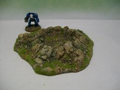 Wargames Terrain Mountain Crater 1 28mm Painted Resin Wargame 15mm Scenery | eBay