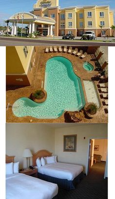 """Our favorite place to stay in Port Aransas. Within driving/walk distance to the beach, you can see it from the window. """"Holiday Inn Express & suites - Port Aransas"""". 727 S 11th Street, Port Aransas, TX 78373. (877) 863-4780"""