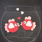 OkulÖncesi Daire ve Kalplerle Balık Çalışması