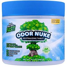 ODOR NUKE Human Urine Odor Neutralizer Tablets To Kill Urine Smell In Camping Toilets, Portable Urinals for Men, Bedside Commodes, Bed Pans, Travel Trucker Urinals, Urinals For Toddlers (14.1oz): Amazon.com: Industrial & Scientific