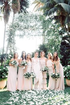 Tips For Planning The Perfect Wedding Day. A wedding should be a joyous occasion for everyone involved. The tips you are about to read are essential for planning and executing a wedding that is both Designer Bridesmaid Dresses, Bridesmaid Dress Styles, Brides And Bridesmaids, Ballroom Wedding Reception, Wedding Gowns, Wedding Venues, Perfect Wedding, Dream Wedding, Wedding Day