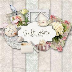 Far Far Hill: New Freebies Kit - Soft & White