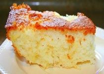 Pineapple Angel Food Cake  1 box (1-step) angel food cake mix  1 large can crushed pineapple  Put dry cake mix in bowl, add entire can of pineapple with juice.mix well.  Pour into either a tube pan.  Bake at 350 degrees for time on box for size pan or when sides pull away from pan and toothpick, cake is done. cindiloo28