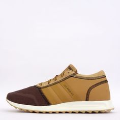 adidas Originals Los Angeles Mens Trainers Shoes Sneakers St Aubarn Brown #adidasOriginals #TrainersShoes