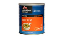 #Emergencies come in many forms. Sometimes it involves a power outage and sometime it's an unexpected, hungry, stampeding soccer team bursting through the front door. Either way, we've got you covered. Just add boiling water and in 8-10 minutes you'll have a delicious meal to feed a whole family.  Our beef stew is made with tender dices of all natural beef, potatoes, carrots and is perfect for #emergency #preparedness or as #survival food.