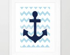 Printable Anchor,  Nautical, Instant Download, Anchor, Nautical Nursery Decor,  Anchor Instant Download