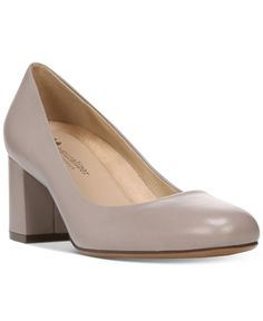 Naturalizer Whitney Block Heel Pumps
