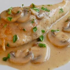 Slow cooker chicken in mushroom gravy. This is very easy and delicious chicken recipe. Chicken breasts with creamy mushroom soup,dry white wine and mushrooms cooked in slow cooker. Best Chicken Enchilada Recipe, Yummy Chicken Recipes, Oven Recipes, Yum Yum Chicken, Slow Cooker Recipes, Cooking Recipes, Recipe Chicken, Slow Cooking, Creamy Mushroom Soup