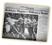 Redskins Super Bowl History | Super Bowl XVII - Washington Redskins vs. Miami Dolphins