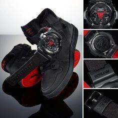 Supra Footwear + G-Shock US 30th Anniversary Collaboration #GShock