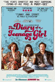 New poster for Diary of a Teenage Girl Alexander Skarsgard Best Movies List, Movie List, Good Movies, Watch Movies, Girl Posters, Cinema Posters, Movie Posters, Room Posters, Alexander Skarsgard