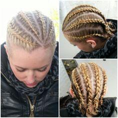 Cornrows Cornrows, Dreadlocks, Hair Styles, Beauty, Fashion, Beleza, Dreads, Moda, La Mode