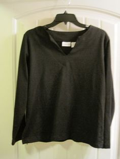 Chicos-2-Black-Long-Sleeve-Stretch-Knit-Top