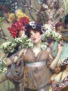 Lawrence Alma Tadema fue un pintor neerlandés de estilo neoclásico y  temática historicista .   Se formó en Bélgica pero realizó buena part...
