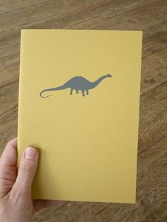 Dinosaur Notebook Apatosaurus Brontosaurus by LittleAlexander