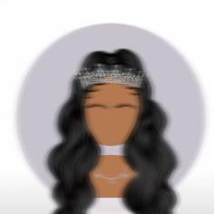 Creative Profile Picture, Best Profile Pictures, Profile Picture For Girls, Profile Pics, Black Love Art, Black Girl Art, Art Girl, Black Aesthetic Wallpaper, Black Girl Aesthetic
