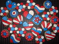 Fourth of July! by cookie cutter creations (jennifer), via Flickr