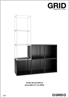 Product & Price Guides - GRID - GRID Price Guide, Shelving, Grid, Steel, Design, Furniture, Home Decor, Living Room, Shelves