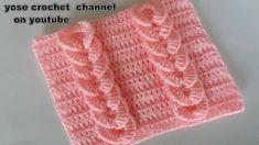 24 Ideas For Crochet Blusas Bebe Tricot Entrelac, Tunisian Crochet, Crochet Motif, Crochet Flowers, Crochet Stitches, Knit Crochet, Crochet Hats, Crochet Simple, Crochet For Kids