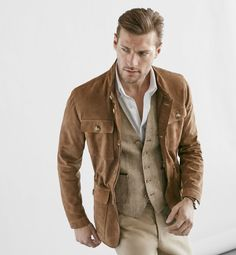 Cultures Hommes: Saharienne Limited Edition Massimo Dutti