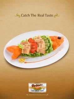 Fish Shaped Tuna Salad (for Party Idea)