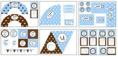 banderines baby shower para imprimir gratis - Buscar con Google