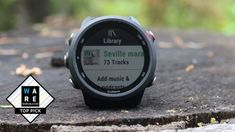 The Garmin Forerunner 245 is a running watch aiming to build on the success of one of the company's best-valued (and most-loved) Forerunners. Its predecess. Add Music, Running Watch, Gps Tracking, Fitness Tracker, Sport Watches, Bushcraft, Edc, Outdoors, Sports