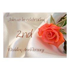 See More2nd wedding anniverary party invitationyou will get best price offer lowest prices or diccount coupone