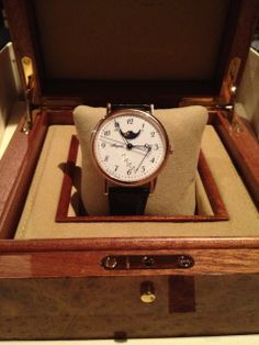 Breguet - My new 7787 with white enamel