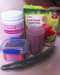 Raspberry Refresh Smoothie Recipe