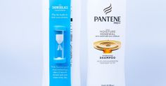 Pantene Pro-V Showerglass         on          Packaging of the World - Creative Package Design Gallery