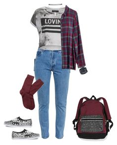 """""""Fall outfit"""" by lelemer1234 on Polyvore featuring mode, Vetements, Religion Clothing, ABS by Allen Schwartz, Madewell, Victoria's Secret, Wet Seal, Vans et Brooks Brothers"""