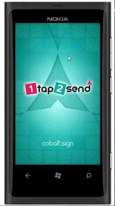 by Cobalt Sign Nokia 1, Windows Phone, Cobalt, Mobile App, Messages, Signs, Shop Signs, Sign