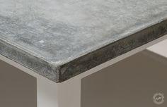 concrete + table