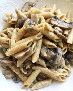 Most Satisfying, Pasta Dishes, Pasta Recipes, Nom Nom, Garlic, Stuffed Mushrooms, Vegetables, Food, Stuff Mushrooms