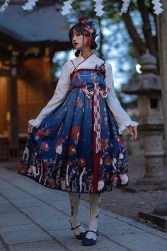 huashigu wa lolita blouse and jsk by lda Pre-order ends Harajuku Fashion, Kawaii Fashion, Lolita Fashion, Cute Fashion, Asian Fashion, Rock Fashion, Muslim Fashion, Fashion Boots, Style Lolita