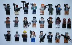 The Walking Dead Minifigure Daryl Rick Walking Dead Mini Figure Fits Lego ®