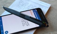 Halfway house between a stylus and a pen, the Smartpen 3 writes on paper but captures your notes and drawings digitally with added audio tied to your strokes
