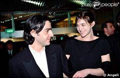 Yvan Attal et Charlotte Gainsbourg en 1995