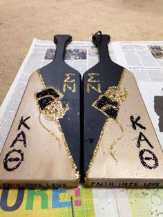 Paddles for my big bros!
