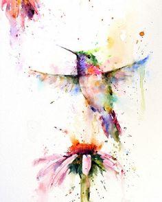 Разноцветные звери и птицы. Эмоциональные акварели Дина Крузера (Dean Crouser) - Ярмарка Мастеров - ручная работа, handmade