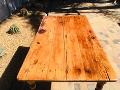 Yellow Wood And Stinkwood Table