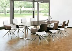 #Office #interiors S 840 by #Thonet