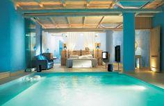 Chambre piscine