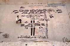 Chaz Bojorquez: 1985, Arroyo Seco River, Los Angeles.