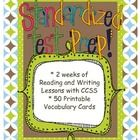 Standardized Test Unit of Study with Vocabulary Study/Task Cards & 19 CCSS! - Jen Bengel