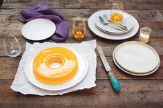 Brazilian coconut baked custard cake (quindão) 18 large egg yolks 1½ cups (330 g/11½ oz) caster (superfine) sugar, plus extra for dusting 1½ cups (100 g/3½ oz) shredded coconut 40 g (1½ oz) butter, melted, plus extra for greasing